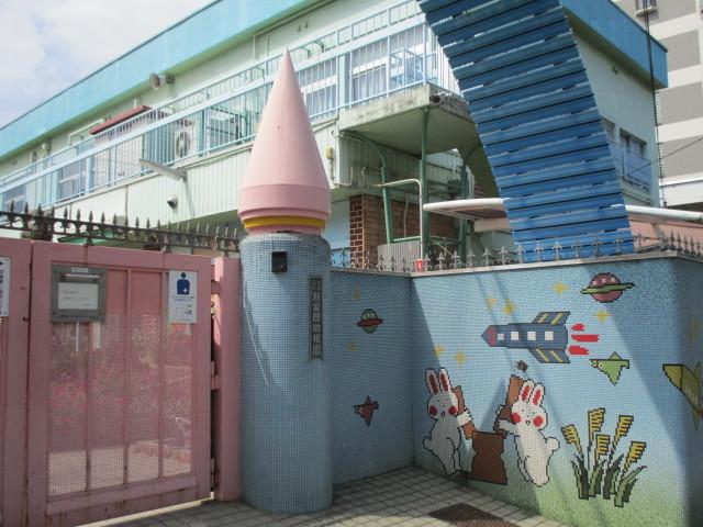 保育園のそばに幼稚園もありますよ