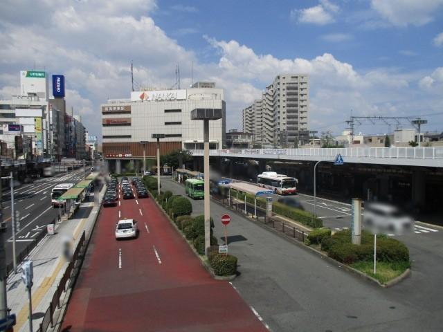 南海高野線「堺東駅」まで徒歩3分です 駅直結の百貨店、周辺には飲食店、銀行等あるので便利ですよ