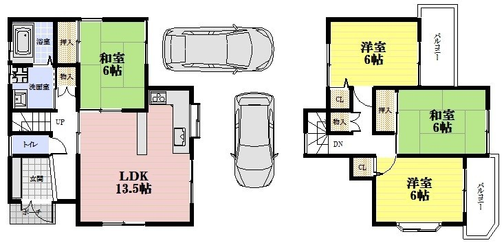 角地です。光明池駅まで徒歩15分です。駐車場:普通車1台・軽自動車1台、可能です。