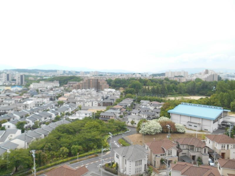12階からの眺望はいいですね