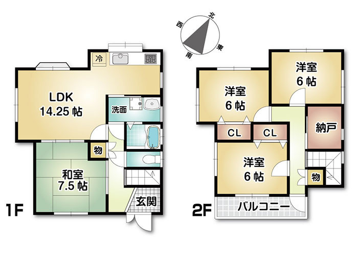 駐車3台可能です。北花田駅まで徒歩10分、イオンまで徒歩5分。買物便利で静かな環境。