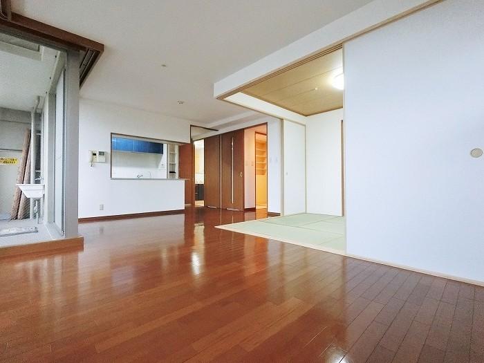 家具の配置がとてもしやすい間取りです、ぜひ現地でご確認くださいませ。