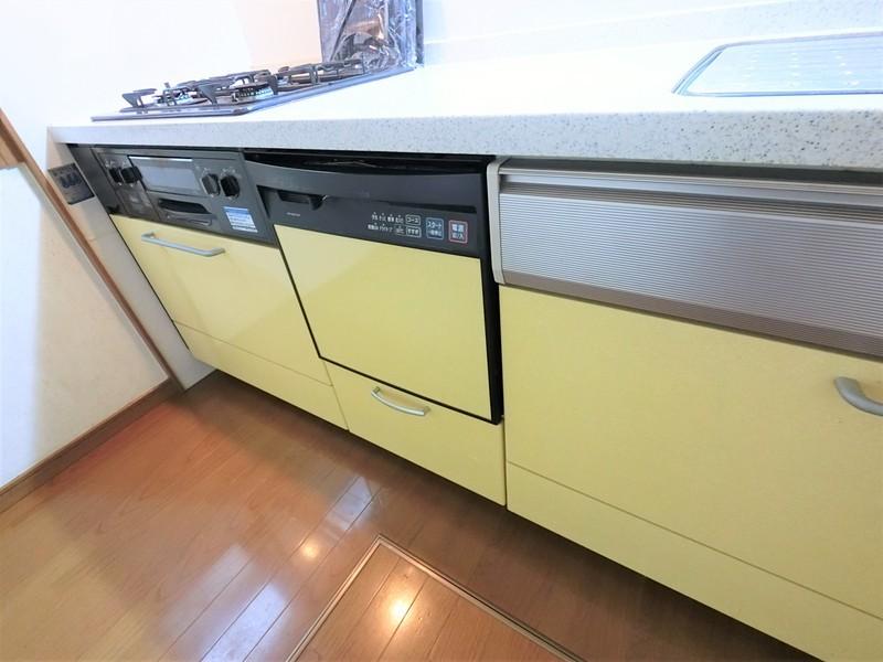 キッチンには食洗器もありますよ。