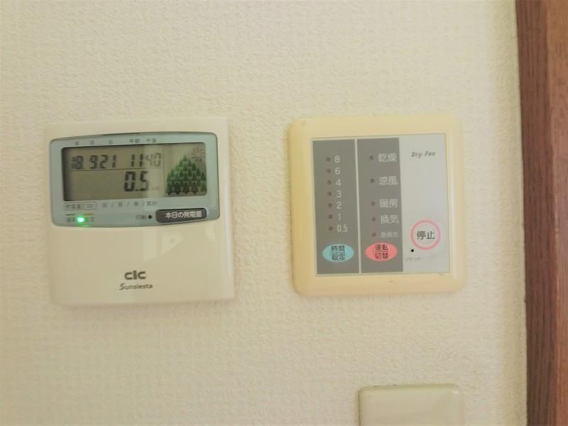 浴室暖房乾燥機もございますよ。