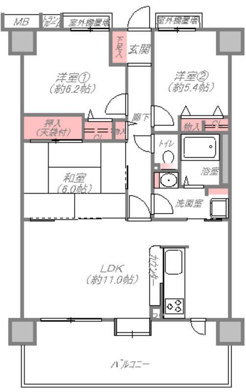 北花田駅まで徒歩1分の立地です。いつでも内覧して頂けますよ。
