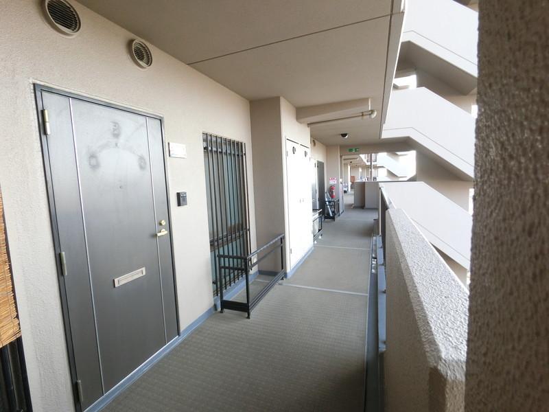 管理も行き届いていますので、廊下など共有スペースもキレイです