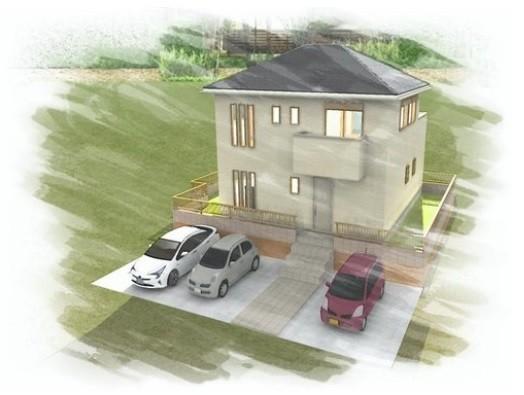 間口が広いためお車を3台4台と駐車していただけます。