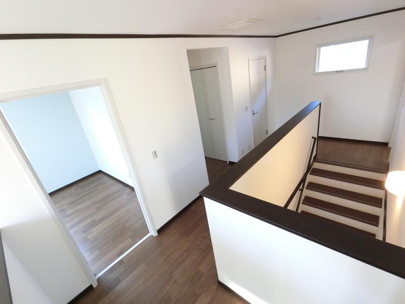 2階フロアも大きくとってありますので、ユッタリと過ごせます。