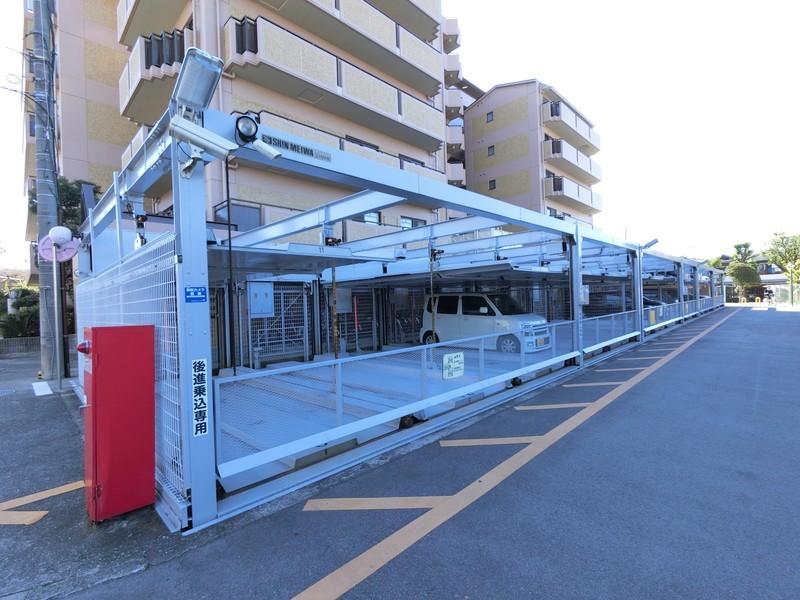 機械式駐車場には高さ制限がございます。
