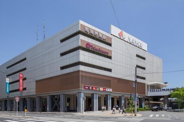 堺タカシマヤまで1.4キロです。