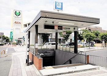 新金岡駅まで徒歩6分です。駅が近いと通勤や通学も助かりますね。