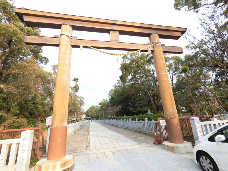 散歩コースに最適な「大鳥神社」