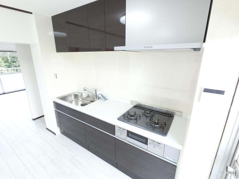 引き出しタイプのキッチンは、収納力バツグンです。