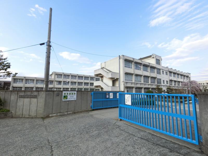 庭代台中学校:1360m