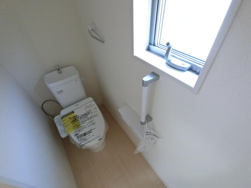2階トイレなんです