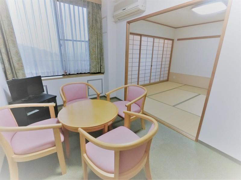 ゲストルーム(1人1泊3000円)もあるんです