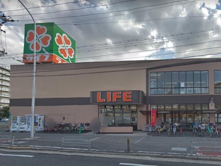 ライフ新北島店まで1007m 徒歩13分