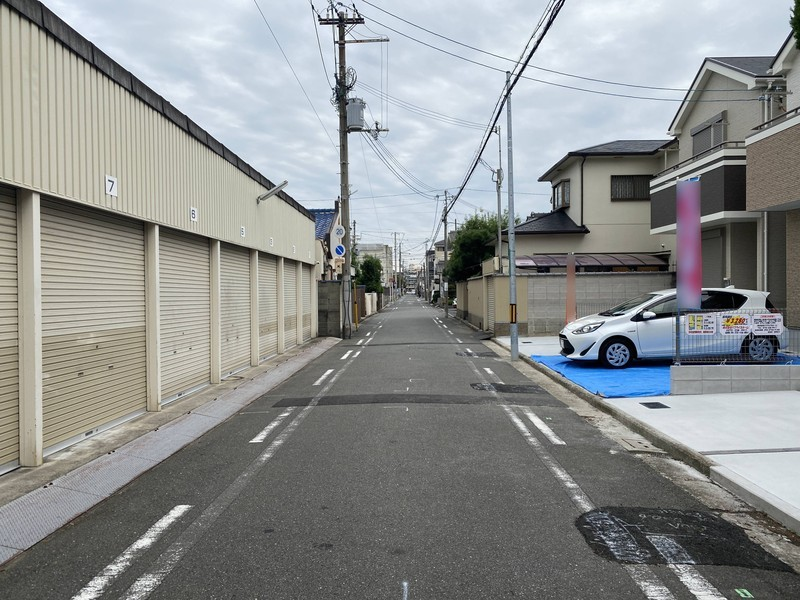 【前面道路】前面道路幅員5.48m