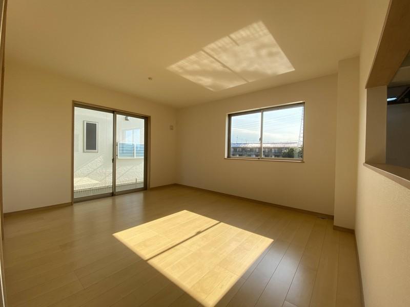 【リビング】家具の配置がしやすいリビングこだわって選んだ家具を置きたくなりますね♪