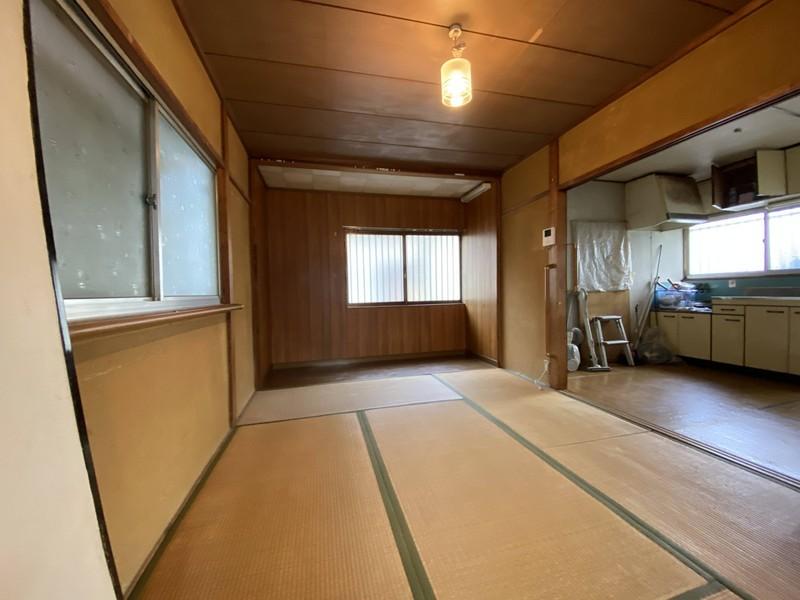 【1階和室】◆6帖 ◆DKに隣接しているので、来客時には解放できます