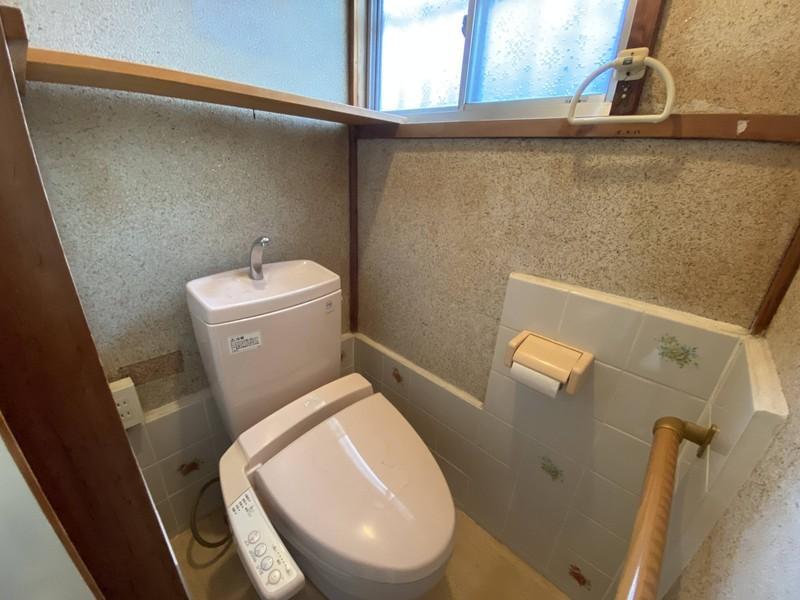 【トイレ】◆洗浄付温便座で冬でもポカポカ