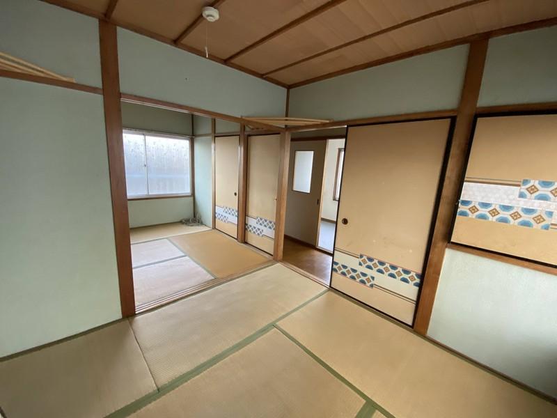 【2階和室1・2】◆4.5帖 ◆間の襖を開放して2室を1室にできます