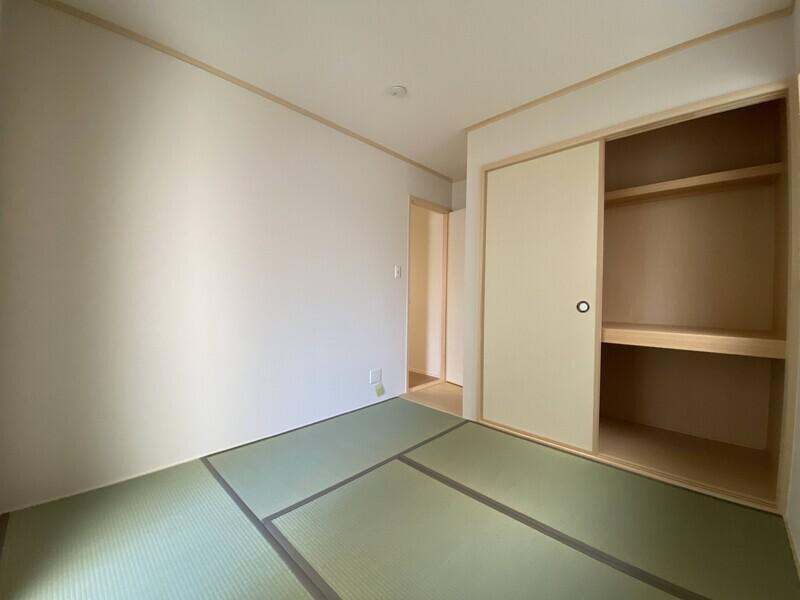 【和室 5帖】全居室収納付きで荷物の多い方も安心♪