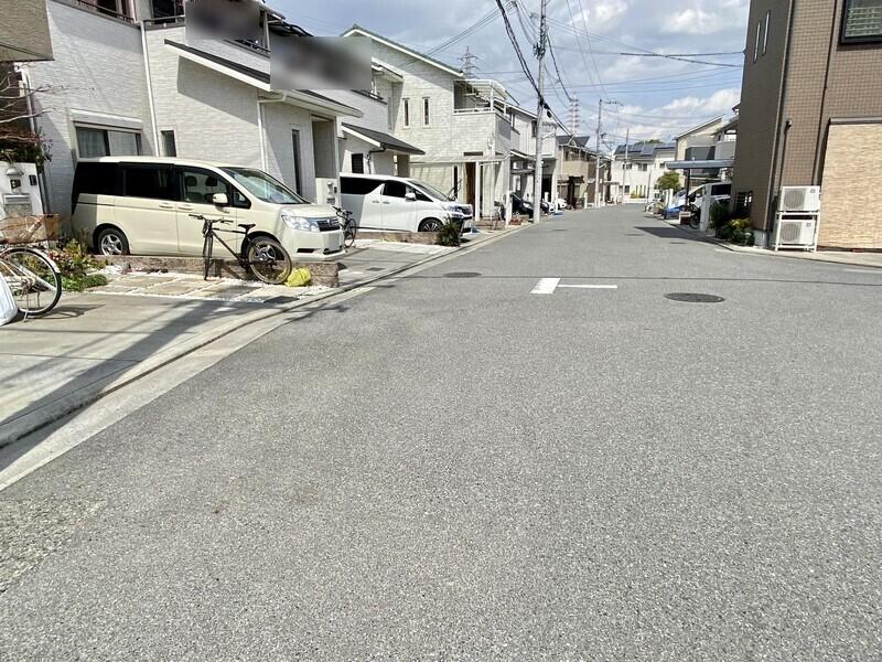 【前面道路含む現地写真】いつでもお気軽にお問合せください♪