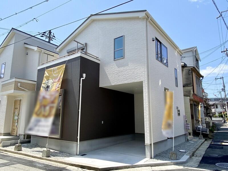 【現地外観写真】2階建住宅において住宅性能評価♪耐震等級3取得の安全安心住宅です♪フラット35S利用可能です♪